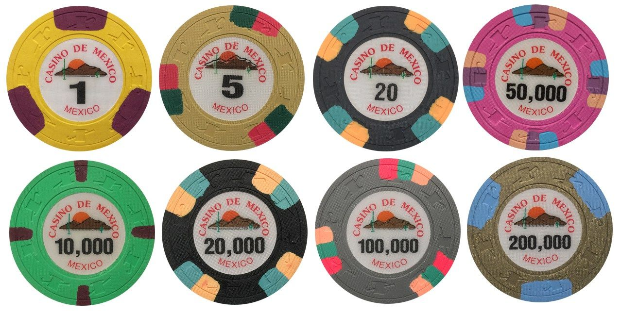 Place the order for #casino de Mexico paulson sample chips available ...