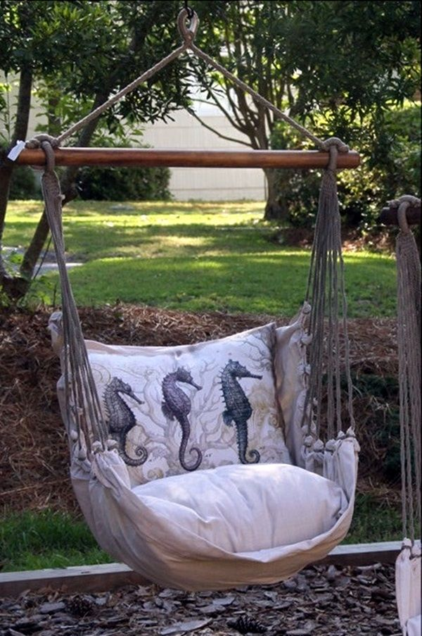 Beautiful 40 DIY Tree Swing Ideas For More Family Time Lovely - Elegant cheap hammock chair Luxury