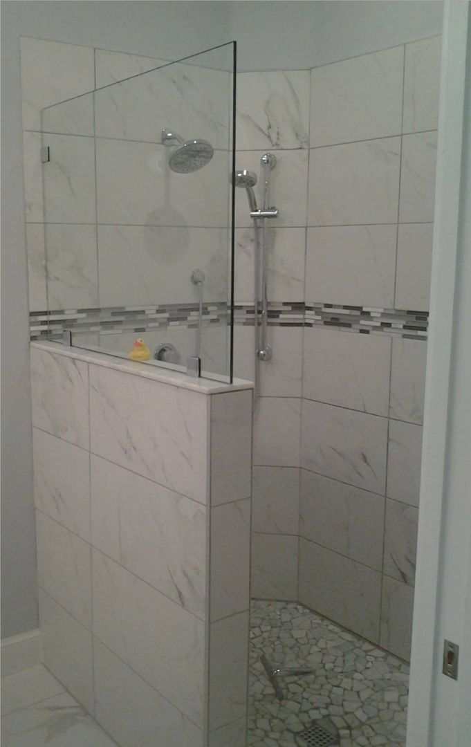 Image Result For Open Entry Shower Panel