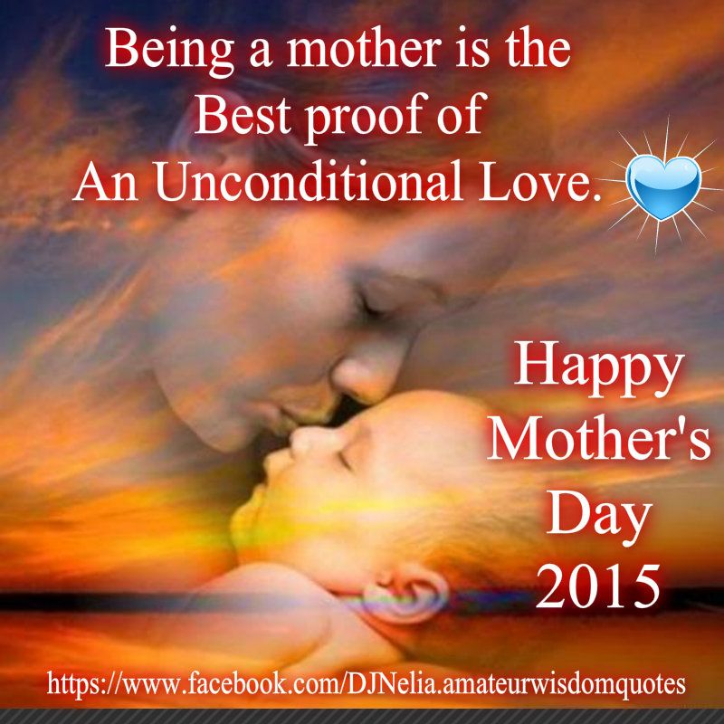Happy Mother S Day Religious Quotes: Mother's Love Happy Mother's Day 2015 By: Nelia Vista