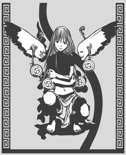雷神 Ⓒ masami kanai