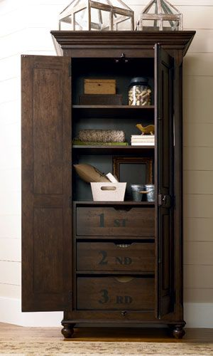 Paula Dean Storage Cabinet, I love the functionality of this cabinet!