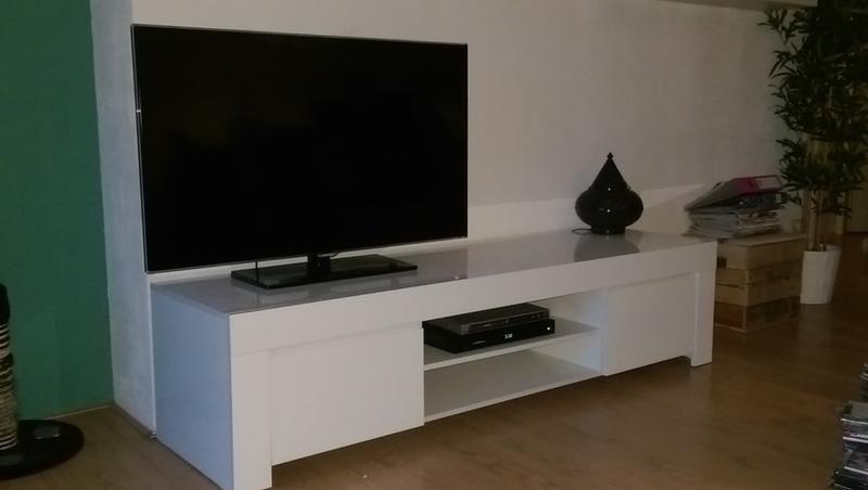 Prachtig tv meubel kastenwand bureau