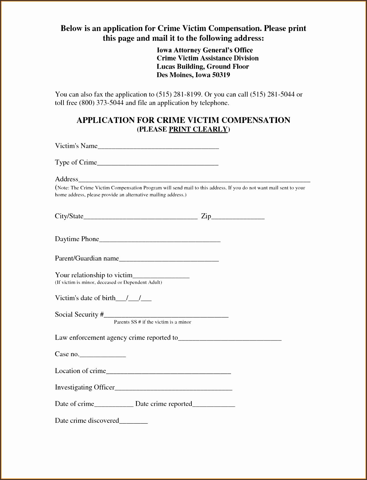 0d585d7f3dd5fbd1f93f70f52a07871d - Crime Victim Assistance Application Form