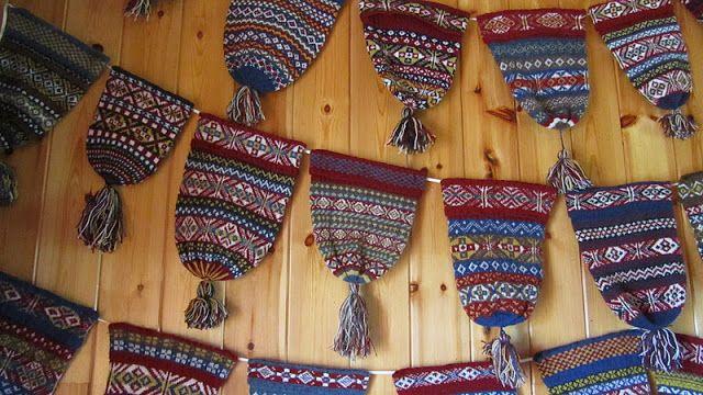 Fair Isle: Traditional Hand Knit Fair Isle Fisherman's Keps (6 ...