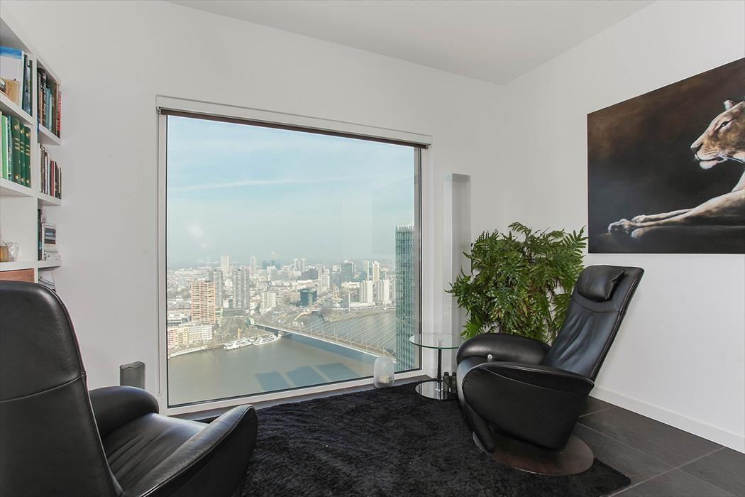 15x Eucalyptus Huis : Appartement met schitterend uitzicht rotterdam centrum van der