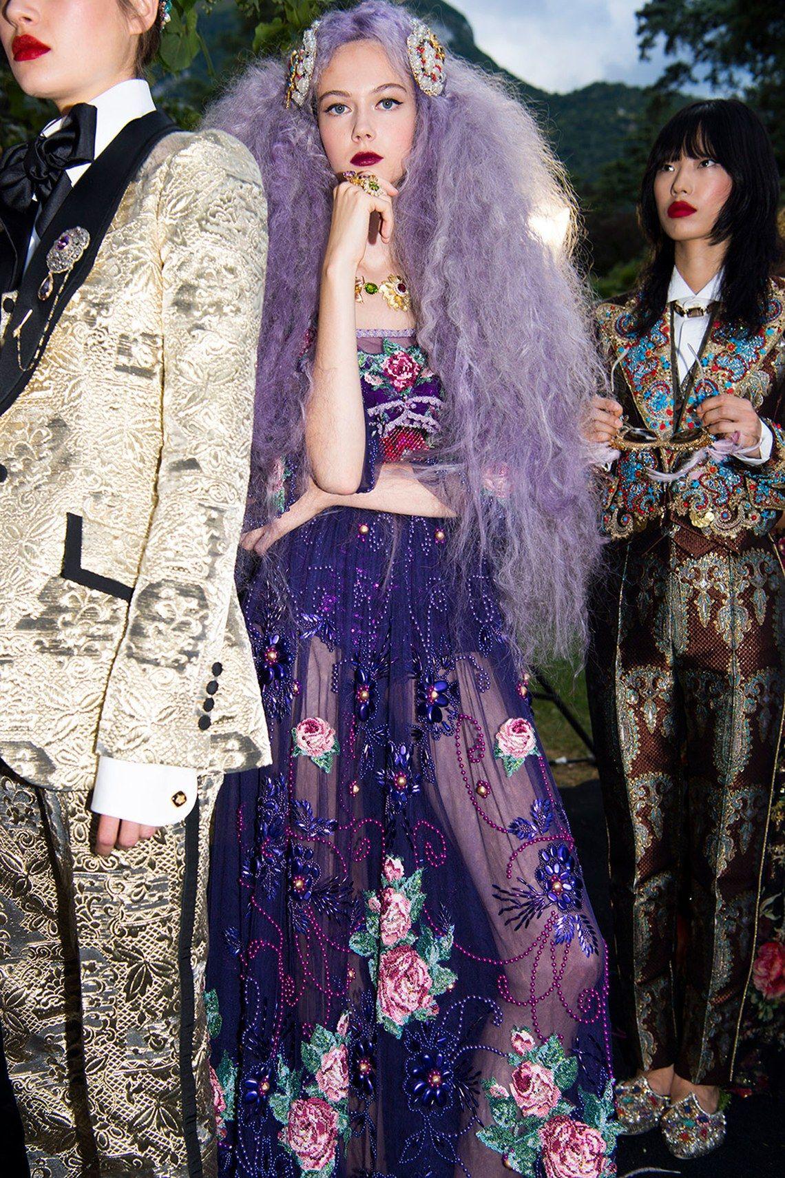 Dolce & Gabbana S O Chameleons Naomi Campbell Halima Aden And