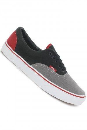 e34318195cfd Vans Era Shoe (charcoal grey black chinese red)  skatedeluxe  sk8dlx  vans