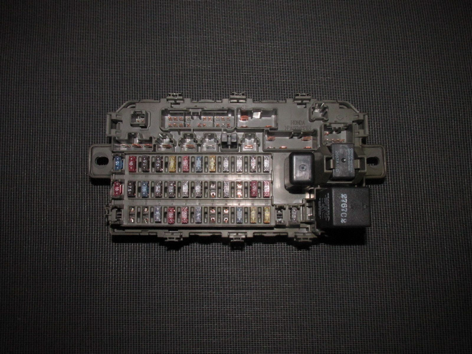 99 Honda Civic Fuse Panel Wiring Diagram Electricity Basics 101 98 Crv 96 97 00 Oem Interior Box Autopartone Com Rh Pinterest 1997 Passport 1999