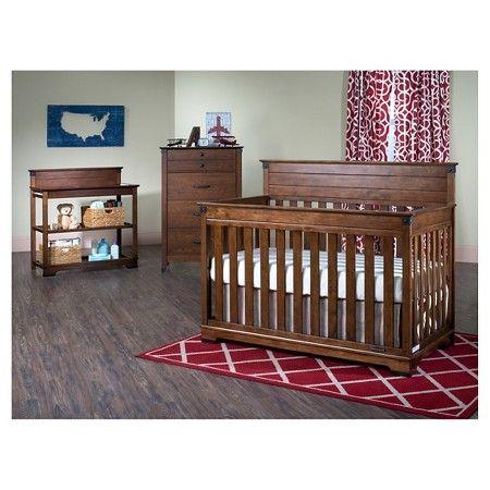 Childcraft Redmond 4 In 1 Convertible Crib Target For Peter Pan Theme Nursery Furniture Sets Nursery Furniture