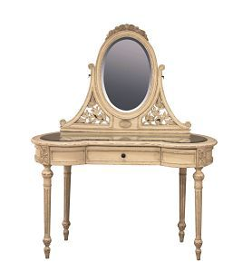 Dressing table with oval mirror dressing table Corner dressing table