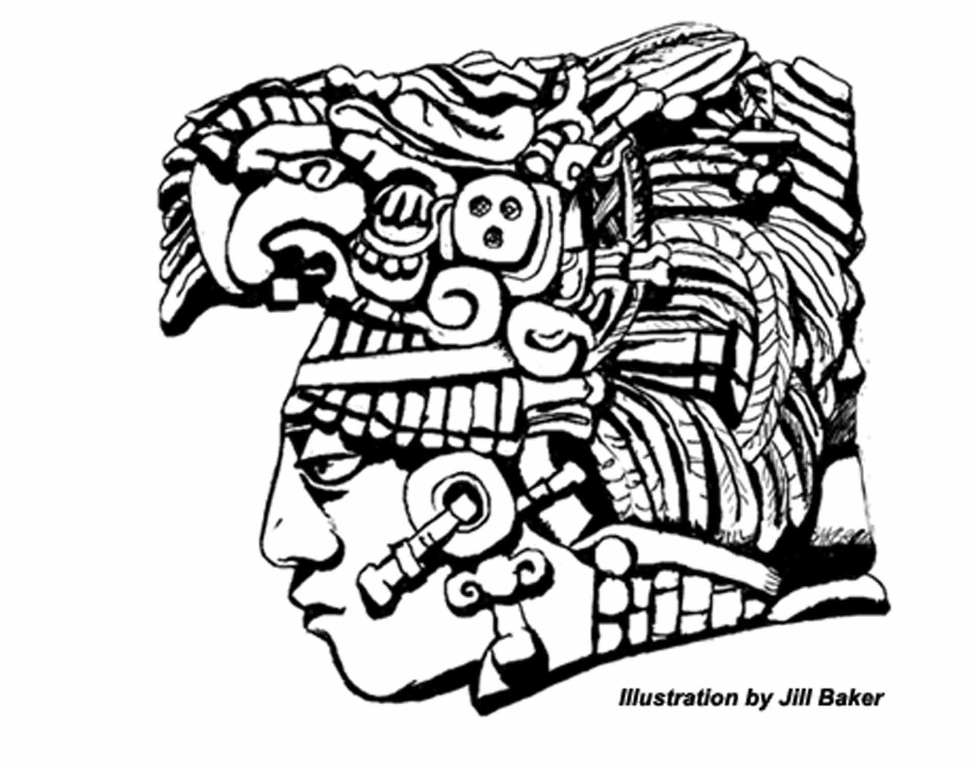 Simple Mayan Calendar Drawing : Images for gt simple mayan drawings work in