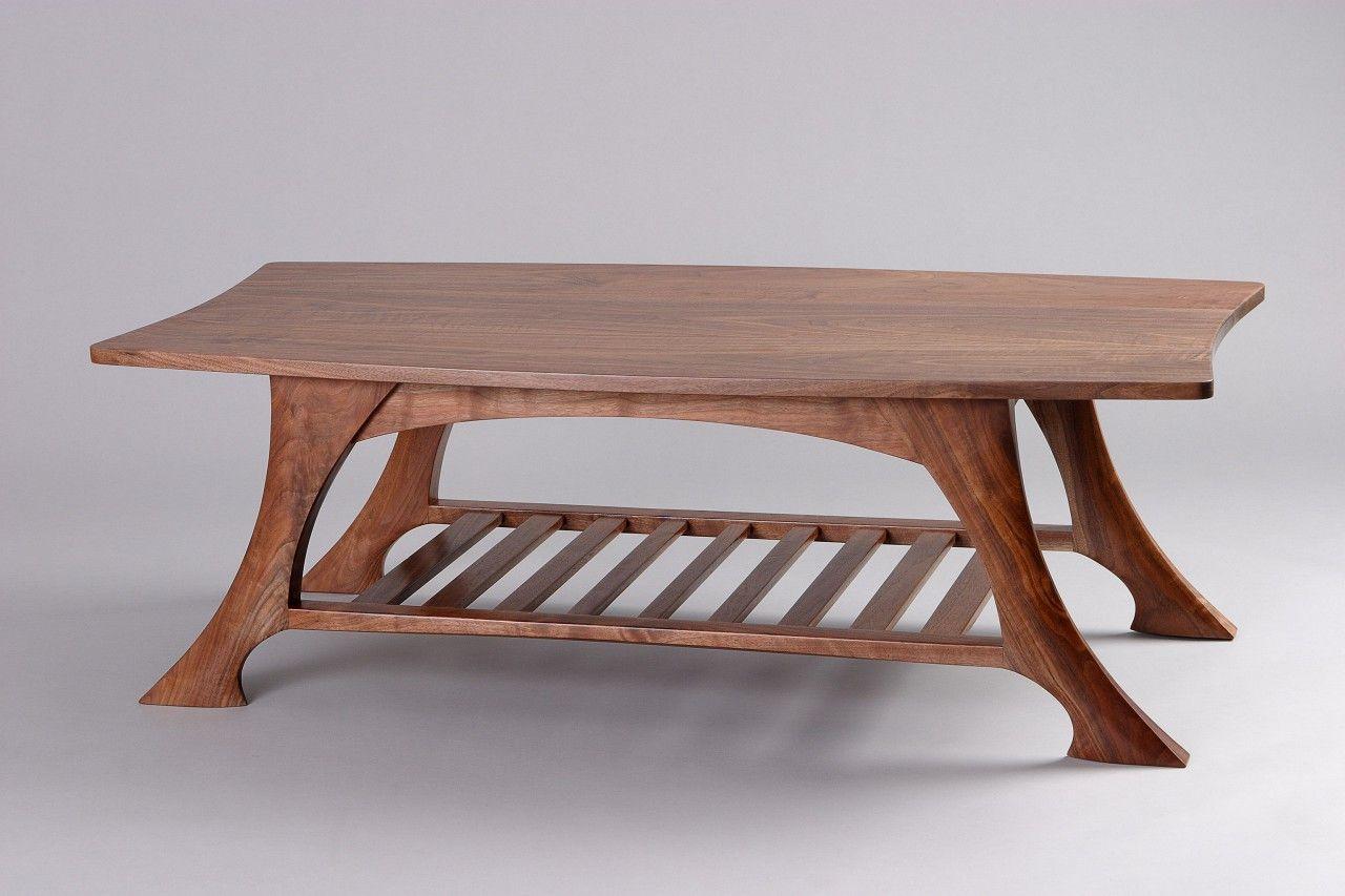 Casa Grande Coffee Table Black Walnut Solid Wood Seth Rolland Coffee Table Wood Wood Coffee Table Design Coffee Table [ 853 x 1280 Pixel ]