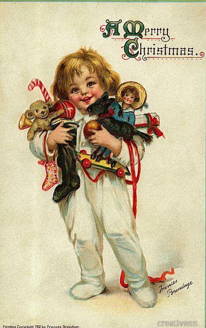 открытки с изображением детей