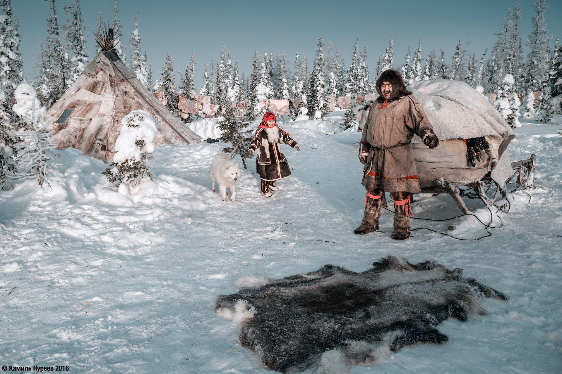 как живут на крайнем севере фото