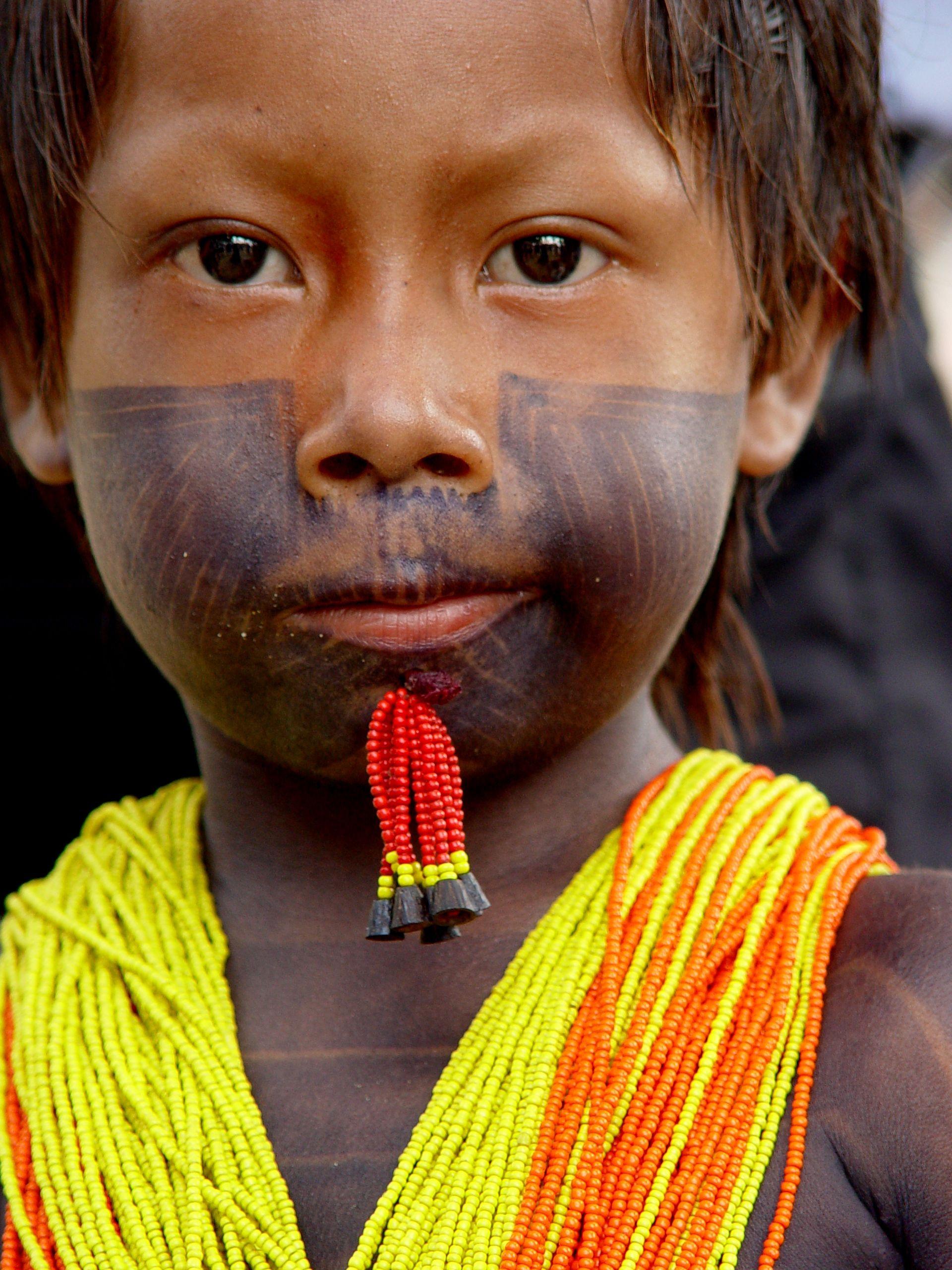 Brazilian Indian Child. Brazilian people, Global beauty