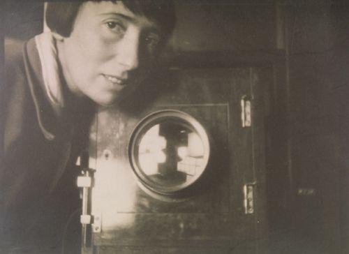 Trude Fleischmann self portrait, 1928