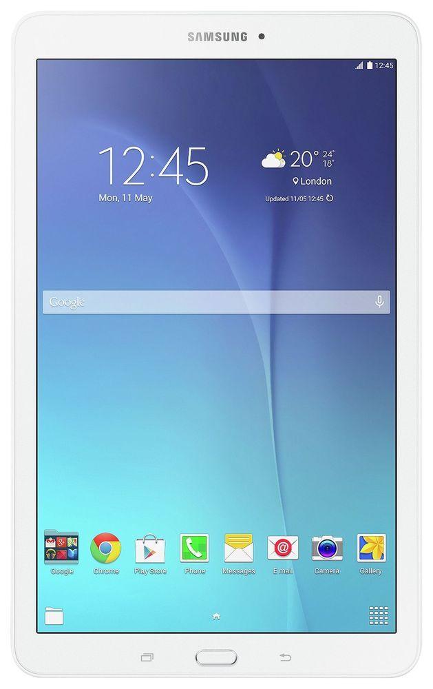 Samsung Galaxy Tab E 9 6 Inch 8gb Wifi Android Tablet White From Argos Ebay Galaxy Tab Samsung Galaxy Tab Samsung