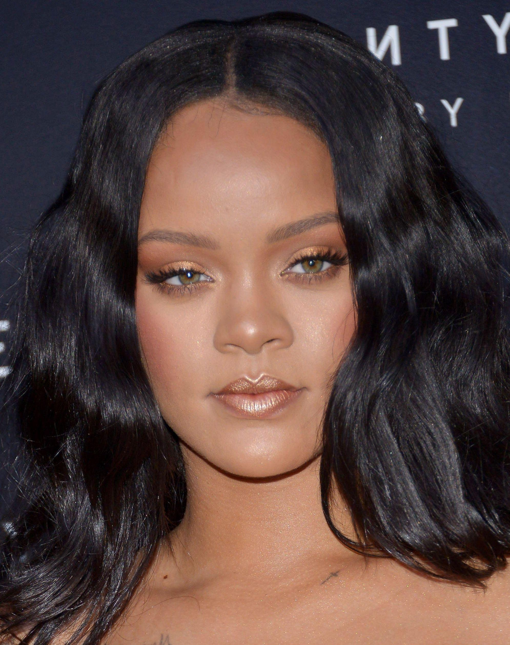 Rihanna At The Fenty Beauty Launch In Italy Rihanna