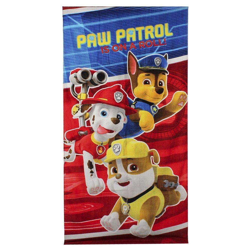 Serviette de bain Paw Patrol (Pat Patrouille)