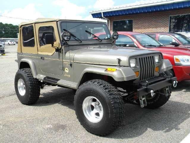 Jeep Wrangler Sahara 1989 Jeep Wrangler Sahara Jeep Wrangler Jeep Yj