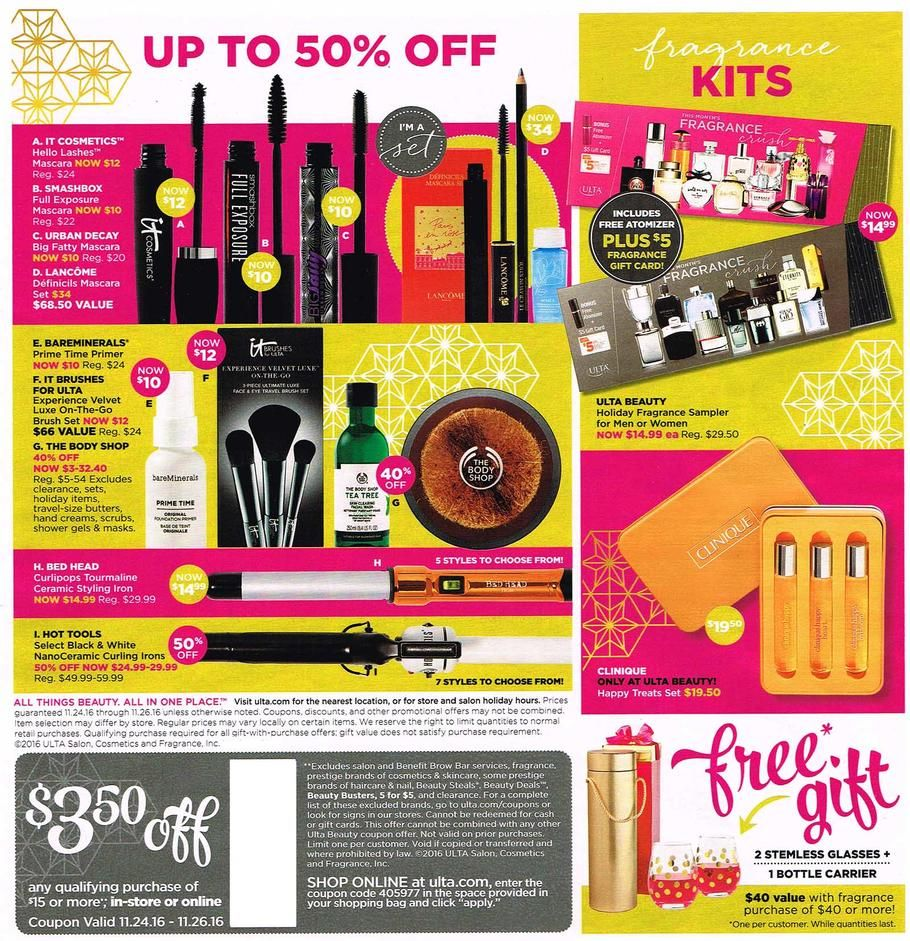 ulta black friday 2016 ad  with images