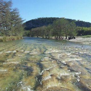 Comanche Crossing Frio River- Concan, Texas.  captured by Brisa Cantu