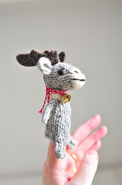 Ravelry Naners Reindeer Free Pattern Adorable Knit