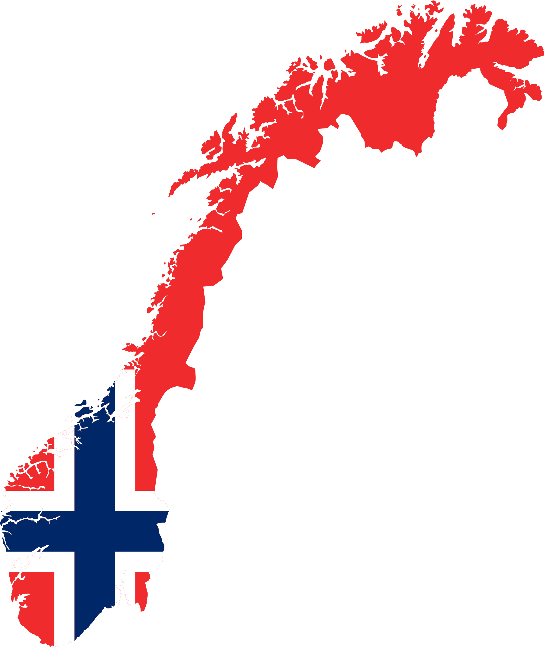 Flag Of Norway Scandinavia Europe Organizational Structure - Map of europe and scandinavian countries