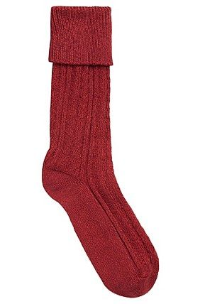 Hugo Boss Socks 'RS Design US' | Stretch Cotton Blend Cable