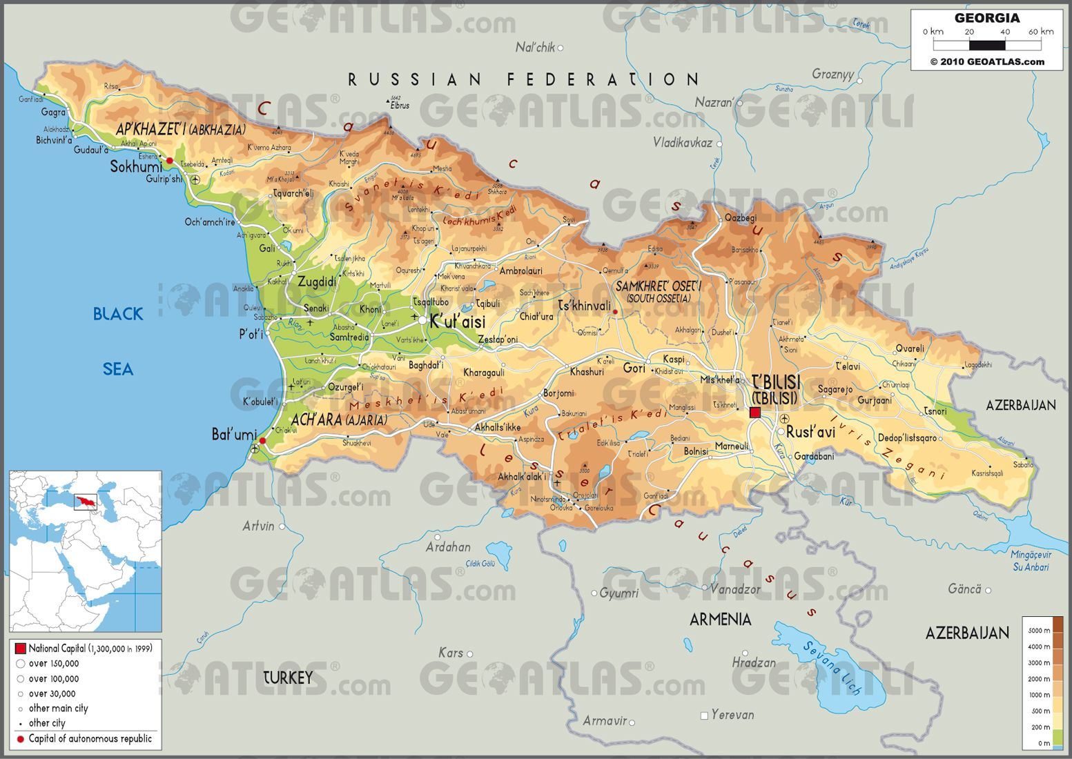 Physical map of Turkmenistan Turkmenistan Pinterest