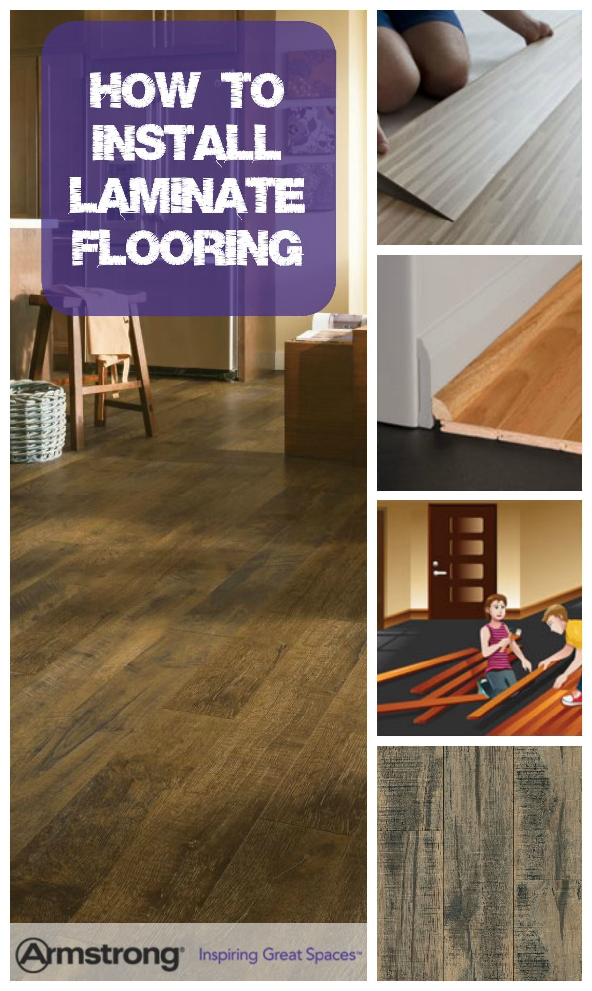 How do you install laminate flooring? We've got all you