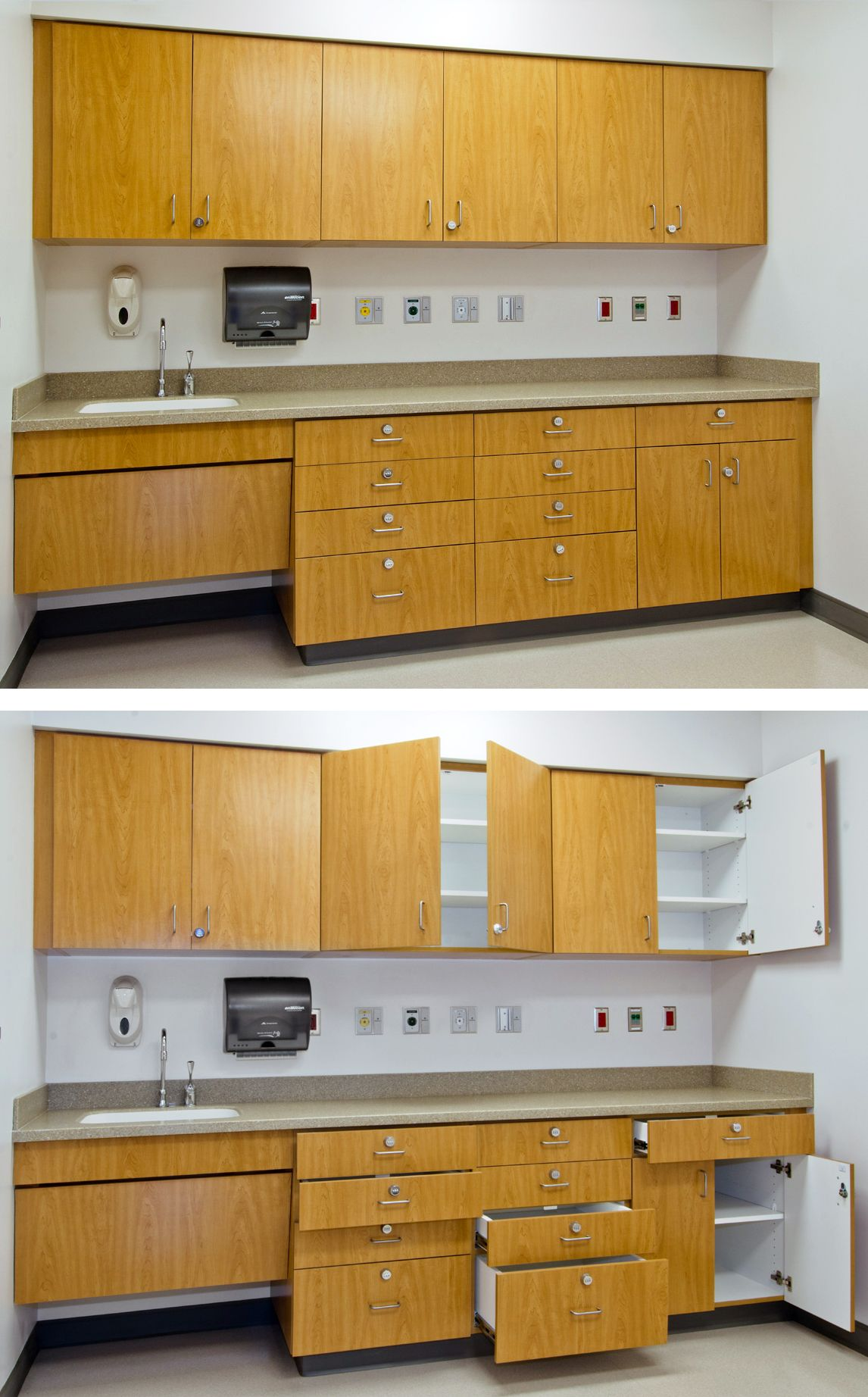 Cabinets With Locks Mercy Health Partners Cabinet Door Designs Kitchen Cabinet Doors Kitchen Cabinets