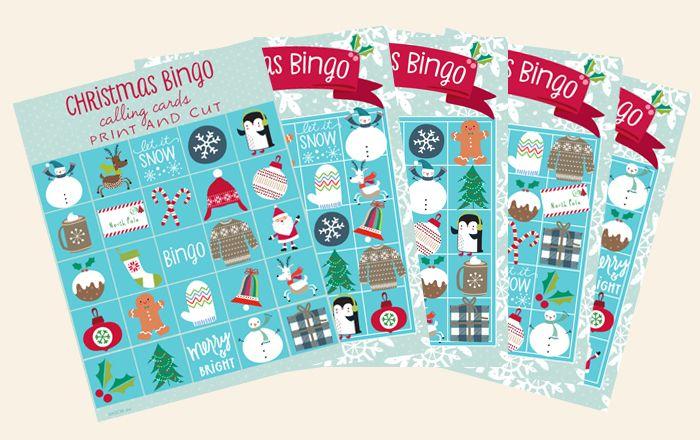 Free Christmas Bingo Cards Robert Hunter Pinterest Christmas