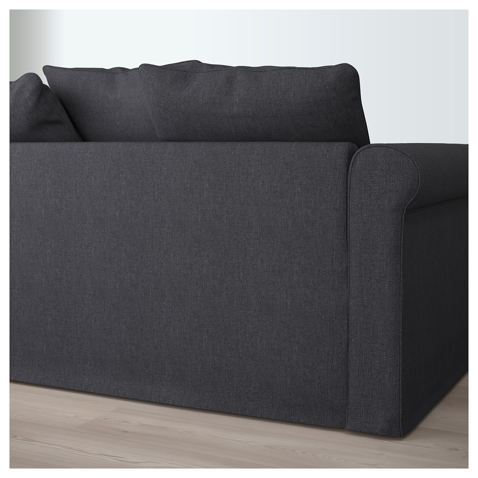 Dreisitzer Sofa Ikea GrÖnlid Sectional 4 Seat With Chaise Sporda Dark Gray