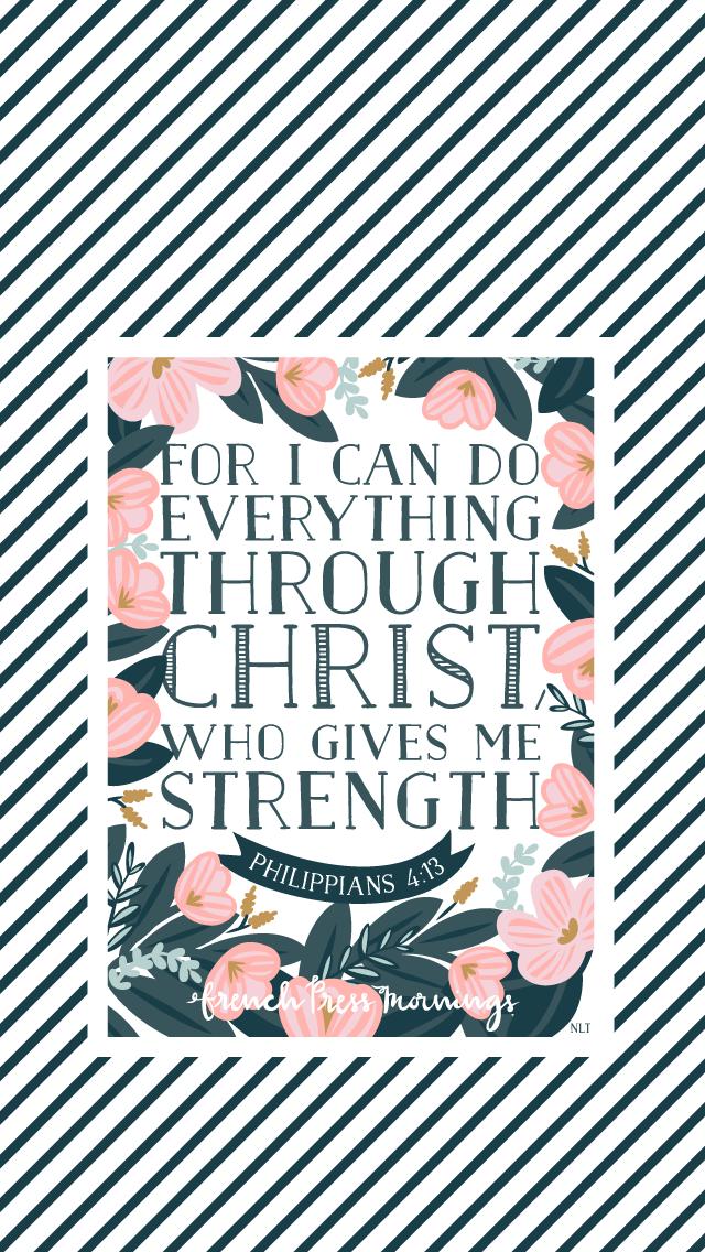 FPM_Philippians4.13_LockScreen.png 640×1,136 Pixels. Mom PrayersHope AnchorChristian  WallpaperBible Verses QuotesScripturesPositive ...