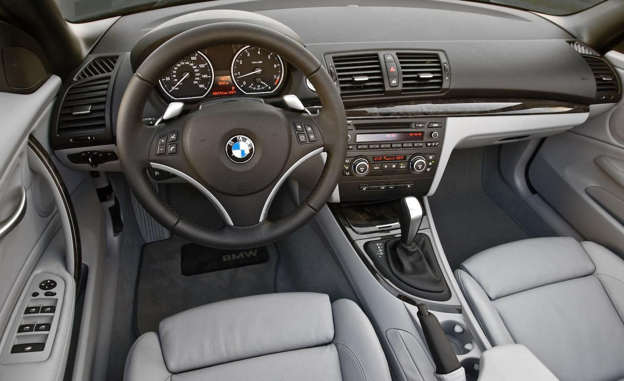 2008 BMW 128i convertible interior Hd Wallpaper | BMW Wallpapers ...