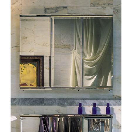 Elegant Triple Mirror Medicine Cabinet
