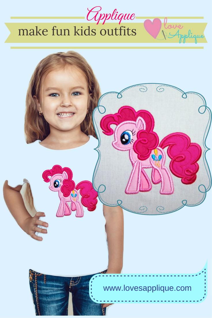 My Little Pony Applique Designs My Little Pony Pinkie Pie Pinkie
