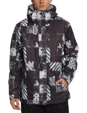 Quiksilver Men S Mission 10k Aop Atom Snow Jacket Amazon Co Uk Sports Outdoors Jackets Snowboard Jacket Mens Quiksilver Men