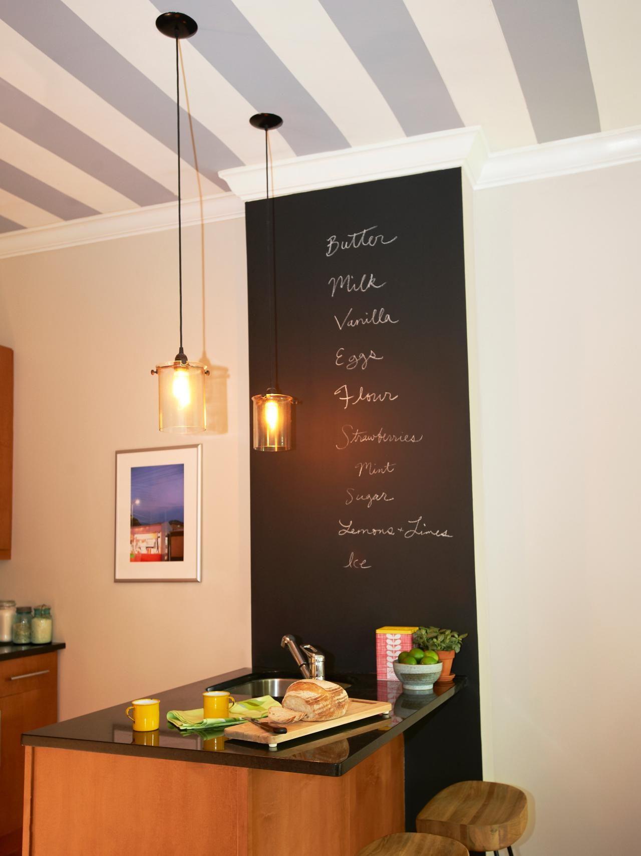 ment peindre des rayures sur le plafond
