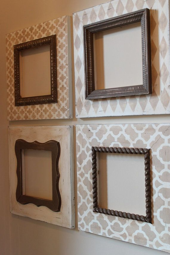 Pattern Frames To Make 3 Large Frames For Office With Cork Board Smaller Frame But Use Cool