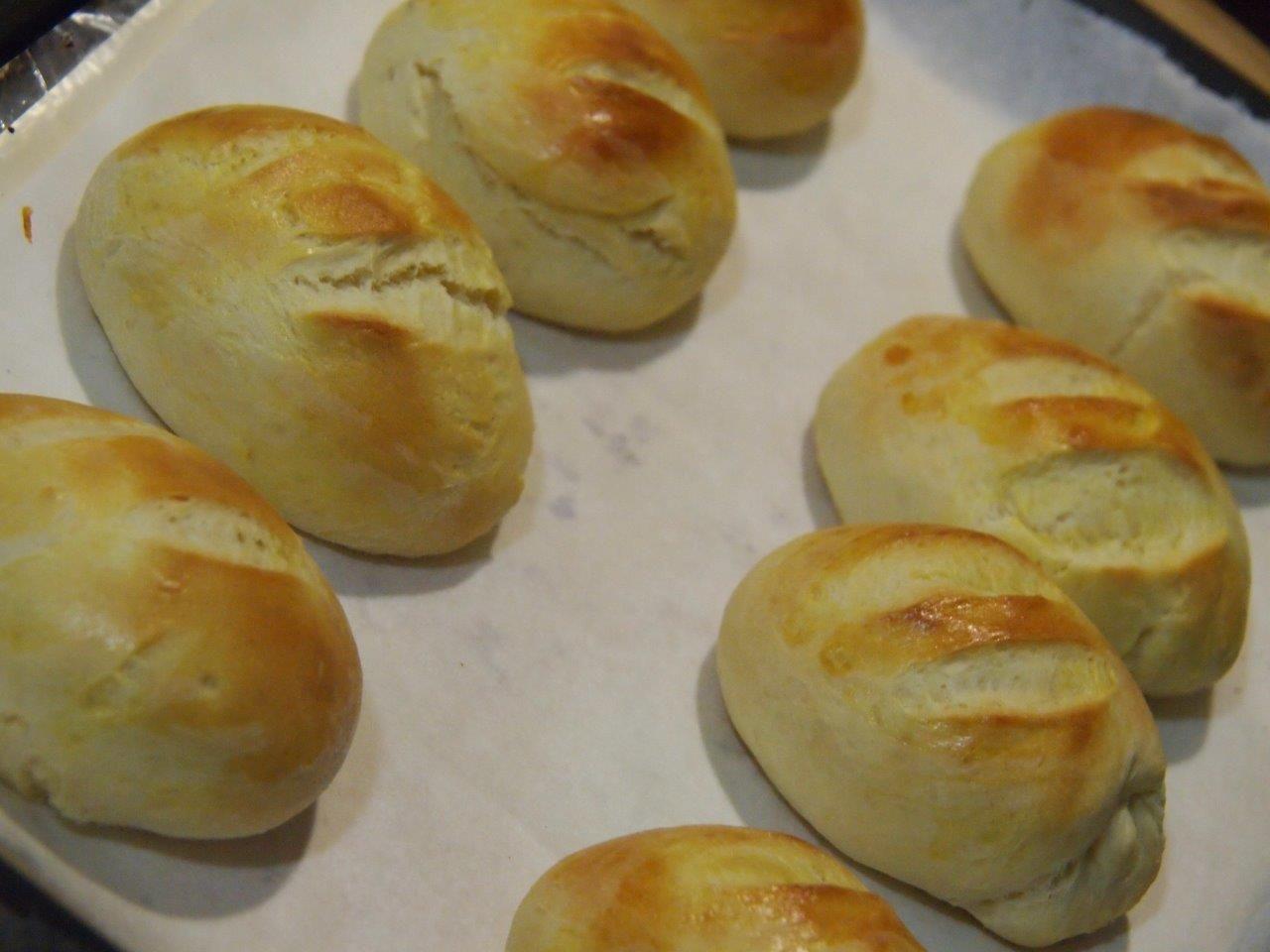 Pan de leche condensada proceso