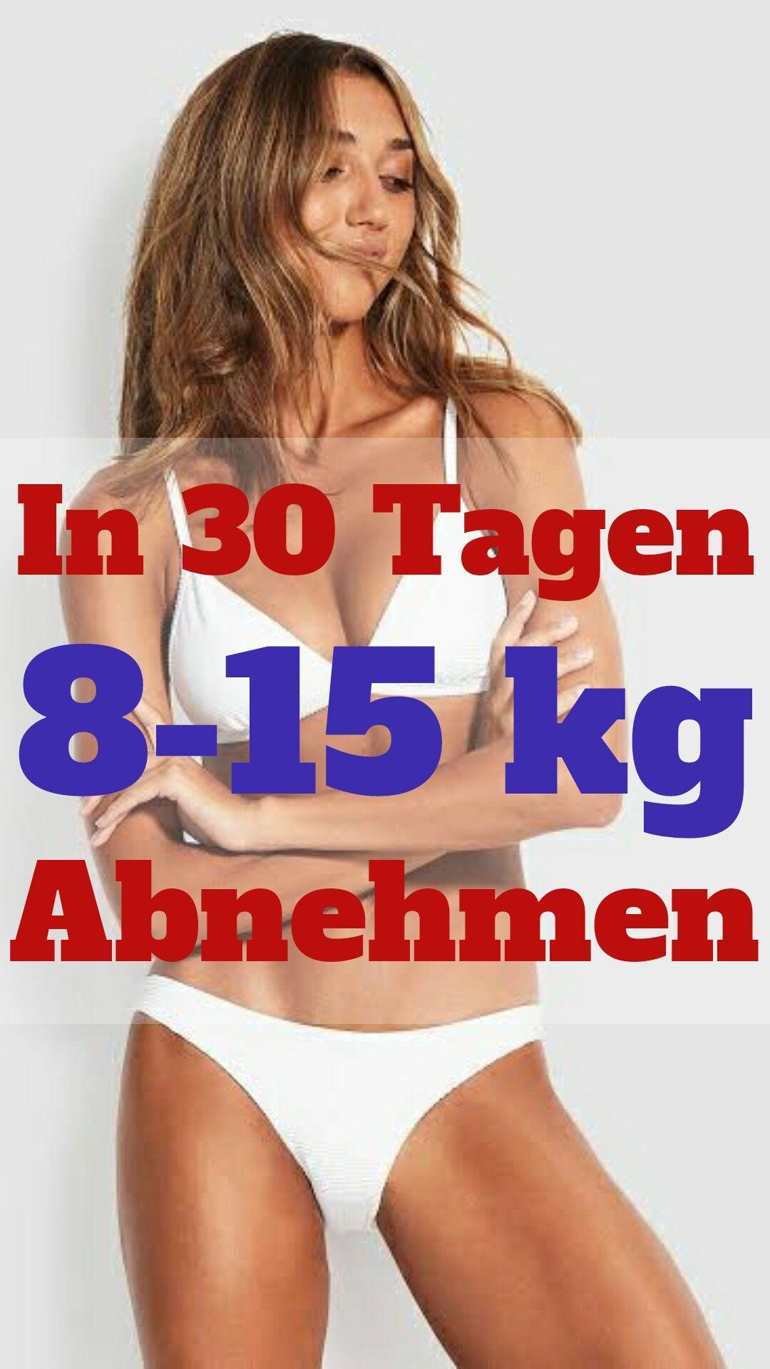 Lose weight 8-15 kg per month  – Gewichtsverlust