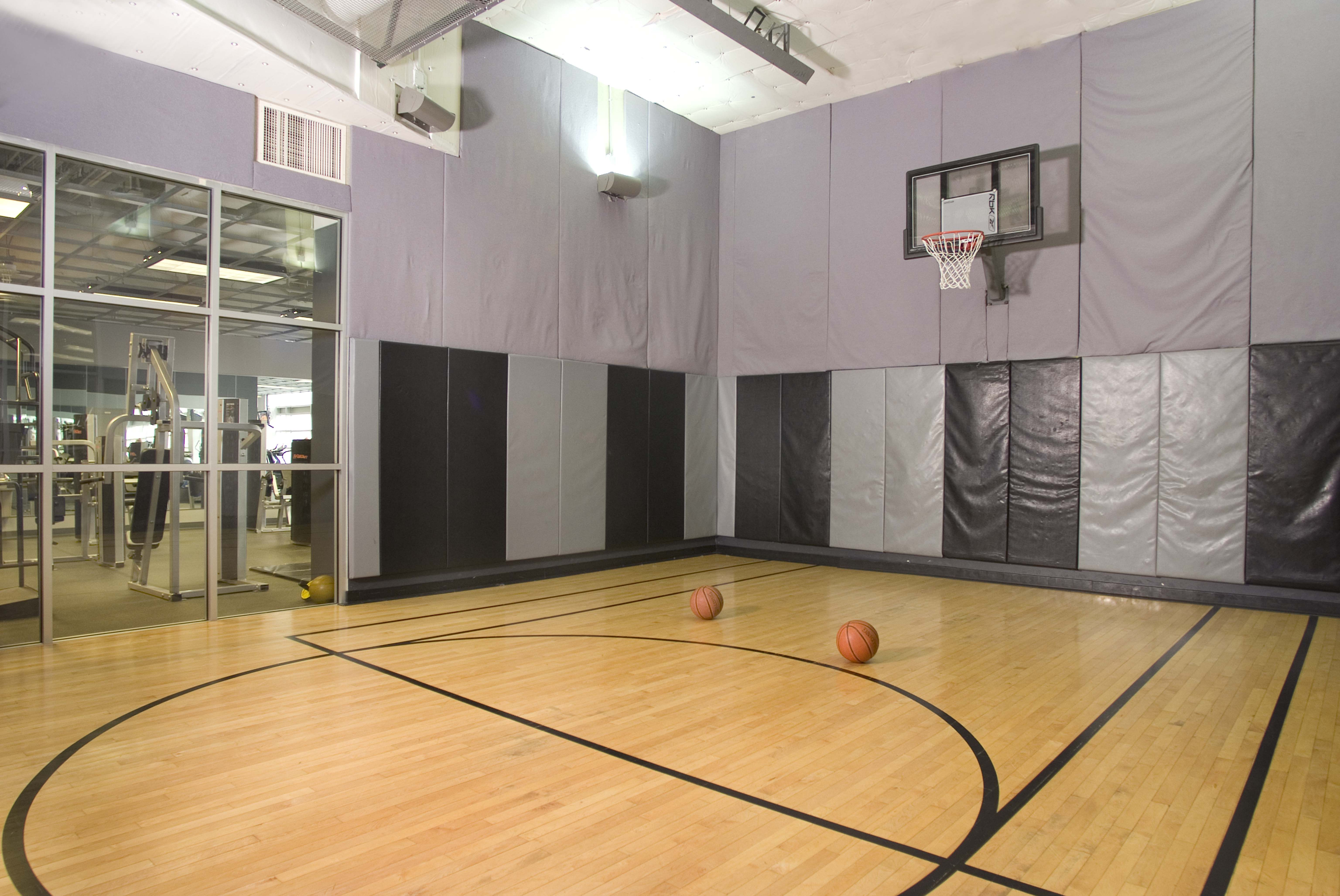 Basketball Court Grand Plaza Chicago Apartment