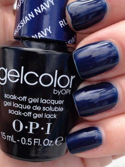 Favorite Opi Gel Color Russian Navy Everything Beauty Opi Gel Nail Colors Opi Gel Nails