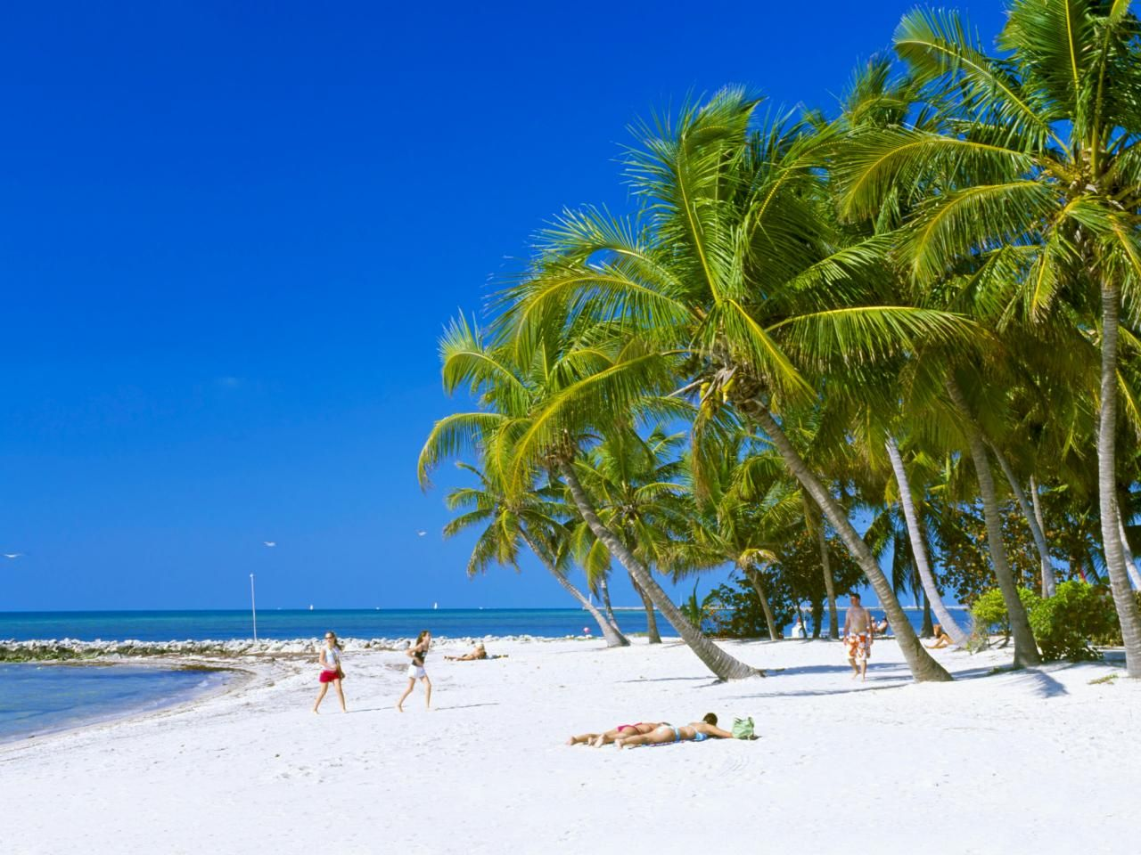 The Beaches In Key West Are Ideal For Swimming And Snorkeling Fishing Is Allowed