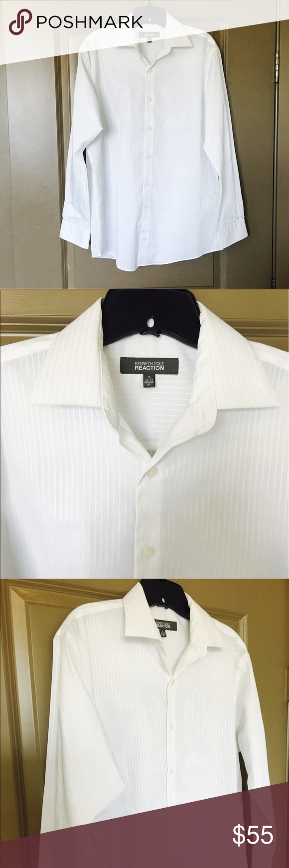 Mens White Dress Shirt On Sale