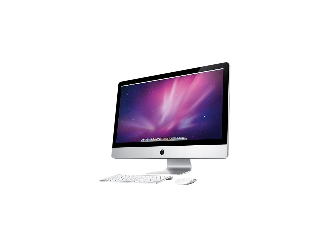 Refurbished Apple Desktop Pc Imac Mc510ll A R Intel Core I3 3 2 Ghz 4 Gb Ddr3 1 Tb Hdd Mac Os X V10 6 Snow Leopard Newegg Co Imac Apple Desktop Imac Desktop