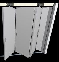 save off 7eb6e 6d3c5 Flexirol Interior Centrefold for Timber Doors is ideal for ...
